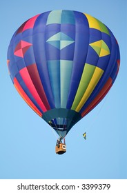 Diamond Pattern Hot Air Balloon