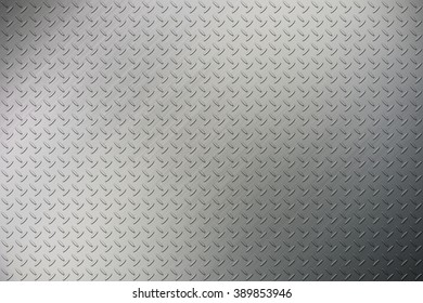 The diamond plate texture background