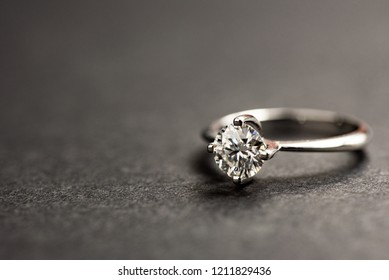 Diamond Ring Close up