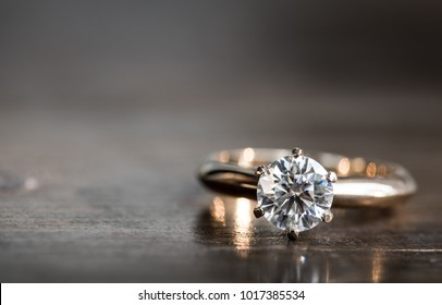 Diamond Ring. Wedding Ring