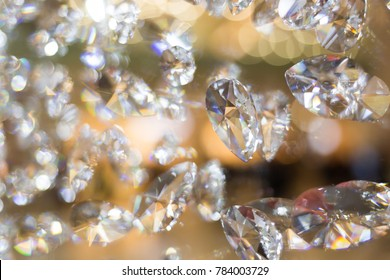 Diamond shine background