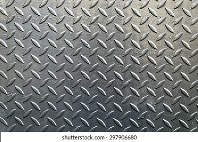 The diamond steel metal sheet