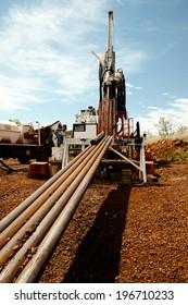 Diamond Tip Core Drill Rig & Drill Rods - Australia