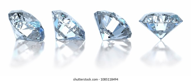 Diamonds with relection