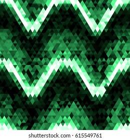 diamonds seamless triangle abstract pattern