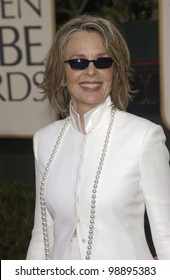 DIANE KEATON at the 61st Annual Golden Globe Awards at the Beverly Hilton Hotel, Beverly Hills, CA. January 25, 2004