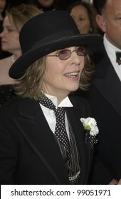 DIANE KEATON at the 76th Annual Academy Awards in Hollywood. February 29, 2004