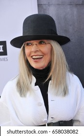Diane Keaton at the AFI Life Achievement Award Gala Tribute To Diane Keaton held at the Dolby Theatre in Hollywood, USA on June 8, 2017.