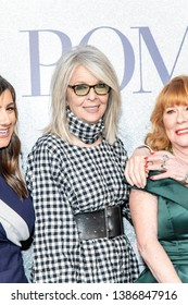 """Diane Keaton attends The World Premiere of """"POMS"""" at Regal LA LIVE, Los Angeles, CA on May 1, 2019"""
