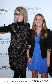 Diane Keaton and her daughter Dexter Keaton at the  17th Annual Women in Hollywood Tribute, Four Seasons Hotel, Los Angeles, CA. 10-18-10
