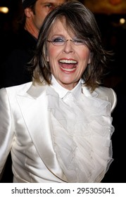 Diane Keaton at the Los Angeles premiere of 'Mad Money' held at the Mann Village Theater in Westwood on January 9, 2008.