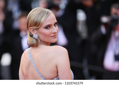 Diane Kruger attends the screening of 'Sink Or Swim (Le Grand Bain)' during the 71st annual Cannes Film Festival at Palais des Festivals on May 13, 2018 in Cannes, France.