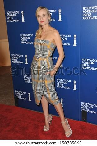 Diane Kruger Hollywood Foreign Press Associations Stock Photo (Edit