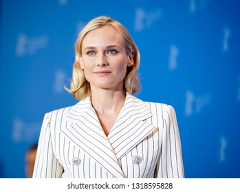 Diane Kruger poses at the 'The Operative' (Die Agentin) photocall during the 69th Berlinale International  Festival Berlin at Grand Hyatt Hotel on February 10, 2019 in Berlin, Germany.