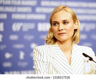 Diane Kruger is seen at the 'The Operative' (Die Agentin) press conference during the 69 Berlinale Festival Berlin at Grand Hyatt Hotel on February 10, 2019  in Berlin, Germany