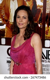 Diane Lane at the HBO's 'Cinema Verite' Los Angeles Premiere held at the Paramount Studios Lot in Hollywood on April 11, 2011.