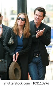 Diane Lane and Josh Brolin at the induction ceremony for Mary Steenburgen into the  Hollywood Walk of Fame, Hollywood Blvd., Hollywood. CA. 12-16-09