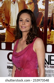 """Diane Lane at the Los Angeles Premiere of """"Cinema Verite"""" held at the Paramount Pictures Studios Hollywood in Los Angeles, California, United States on April 11, 2011."""