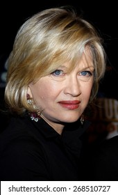 Diane Sawyer at the Los Angeles premiere of 'Charlie Wilson's War' held at the CityWalk Cinemas in Universal City on December 10, 2007.