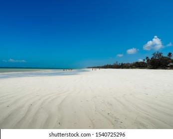 Diani beach, Africa near Mombasa