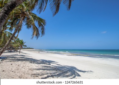 Diani Beach in Kenya is one of the most beautiful beaches in the world.