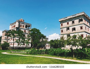 Diaolou formerly romanized as Clock Towers, are fortified multi-storey watchtowers, generally made of reinforced concrete.Located mainly in the Kaiping county of Jiangmen in Guangdong province, China.