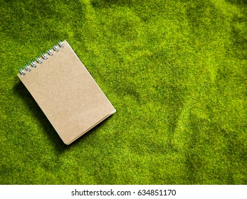 diary note. notepad  on backgrounds vintage
