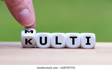 Dice form the words multi-kulti. A german phrase for multicultural.