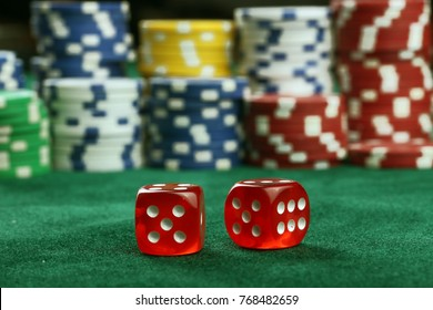 Dice, lottery, gambling and casino games