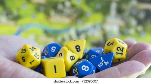 Dices for dnd, role playing games and board games