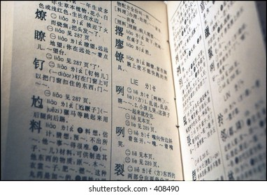 a dictionary of chinese