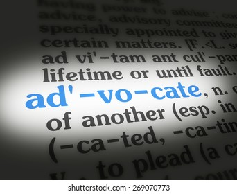 Captivating Dictionary Definition Of The Word Advocate.