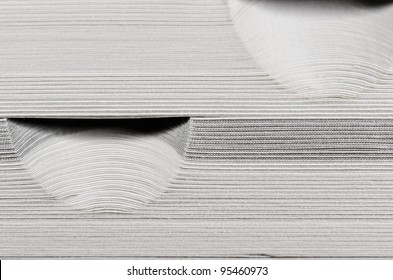 dictionary macro, paper cut
