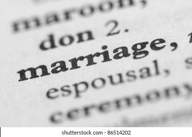 Dictionary Series - Marriage