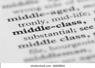 Dictionary Series - Middle-class
