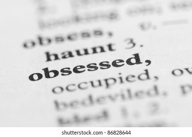 Dictionary Series - Obsessed
