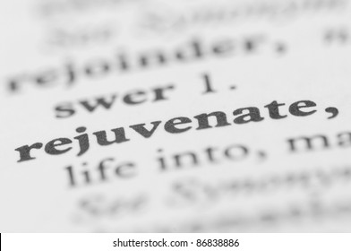 Dictionary Series - Rejuvenate