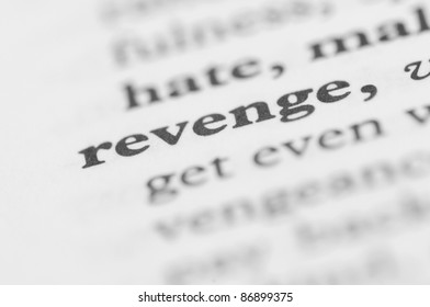 Dictionary Series - Revenge