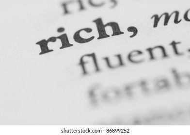 Dictionary Series - Rich