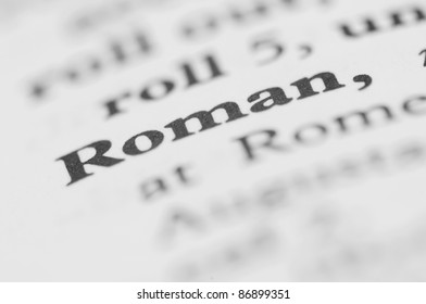 Dictionary Series - Roman