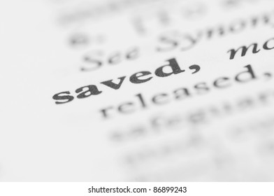 Dictionary Series - Saved