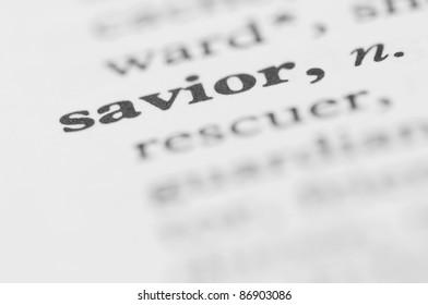 Dictionary Series - Savior