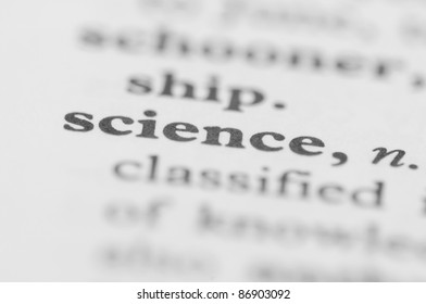 Dictionary Series - Science