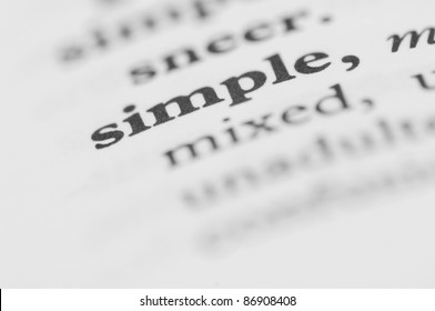 Dictionary Series - Simple