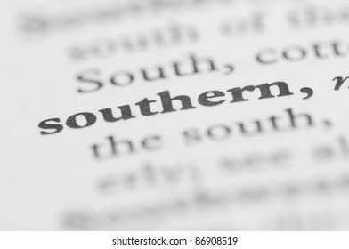Dictionary Series - Southern