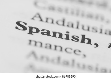 Dictionary Series - Spanish