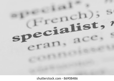 Dictionary Series - Specialist