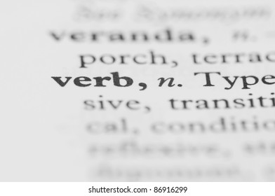 Dictionary Series - Verb
