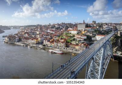 Die Altstadt von Porto, Portugal
