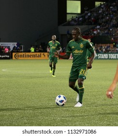 Diego Chara midfielder for the Portland Timbers at Providence Park in Portland Oregon USA July 7,2018.